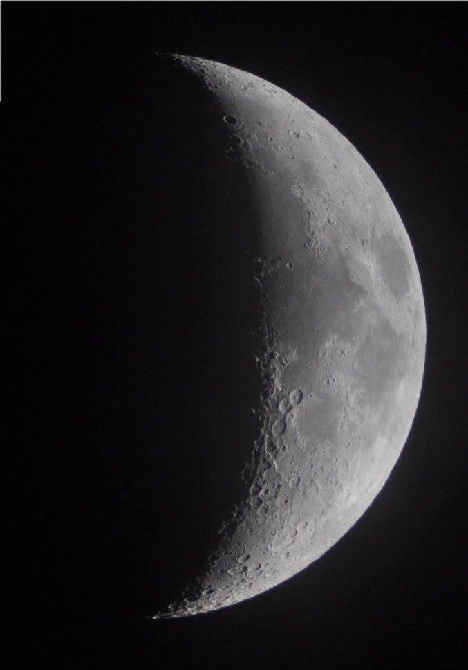 Bulan dari Planetarium Tenggarong