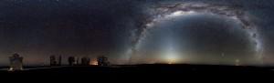Galaksi Bimasakti dilihat dari Bumi (Sumber: eso.org)