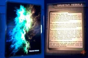 Foto Drustan Nebula dan keterangannya
