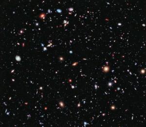 Hubble XDF (Sumber: hubblesite.org)