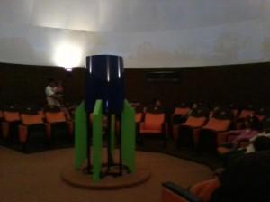 Bagian dalam Planetarium