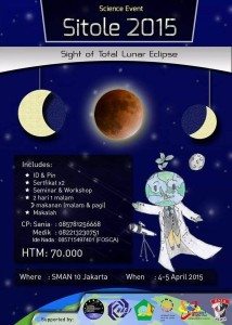 Star Party & pengamatan GBT oleh FOSCA