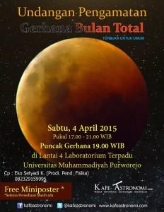 Pengamatan GBT di Universitas Muhammadiyah Purworejo